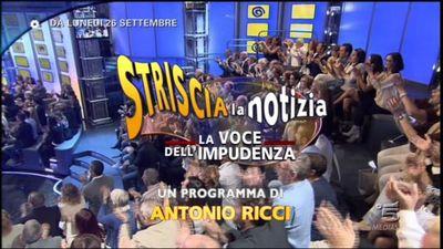 STRISCIA LA NOTIZIA - LA VOCE DELL'IMPUDENZA