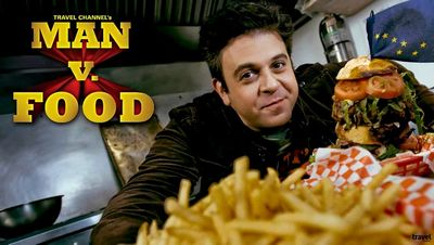 programmi tv seconda serata Man v Food, oggi in tv seconda serata Man v Food