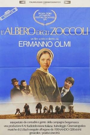 film tv stasera, film tv L'albero degli zoccoli, film stasera in tv poster