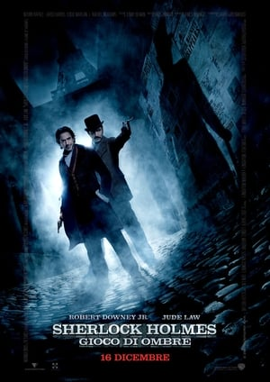 film tv stasera, film tv Sherlock Holmes - Gioco di ombre, film stasera in tv poster