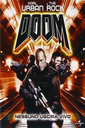 film tv stasera, film tv Doom, film stasera in tv poster