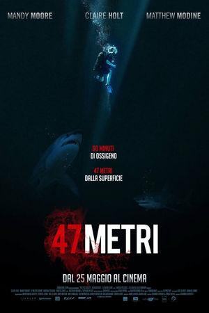 film tv stasera, film tv 47 Metri, film stasera in tv poster