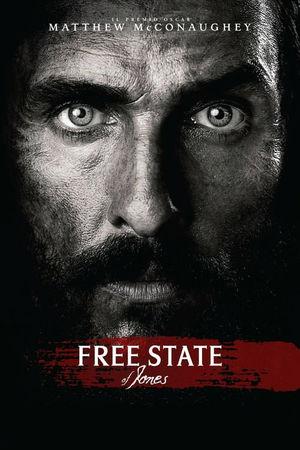 film tv oggi seconda serata, film tv in seconda serata Free State of Jones, film tv stanotte. poster