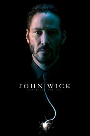 film tv stasera, film tv John Wick, film stasera in tv poster