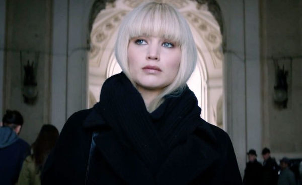 stasera in tv Red Sparrow, oggi in tv prima serata Red Sparrow