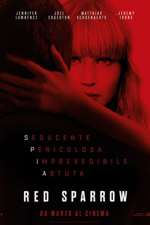 stasera in tv Red Sparrow, oggi in tv prima serata Red Sparrow poster