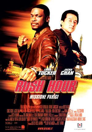 film tv stasera, film tv Rush Hour - Missione Parigi, film stasera in tv poster