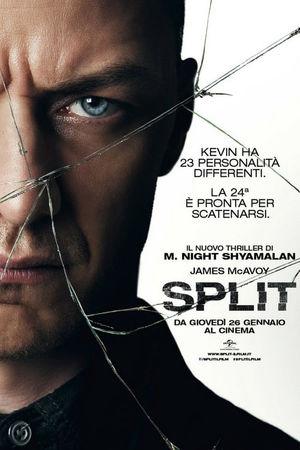 film tv oggi seconda serata, film tv in seconda serata Split, film tv stanotte. poster